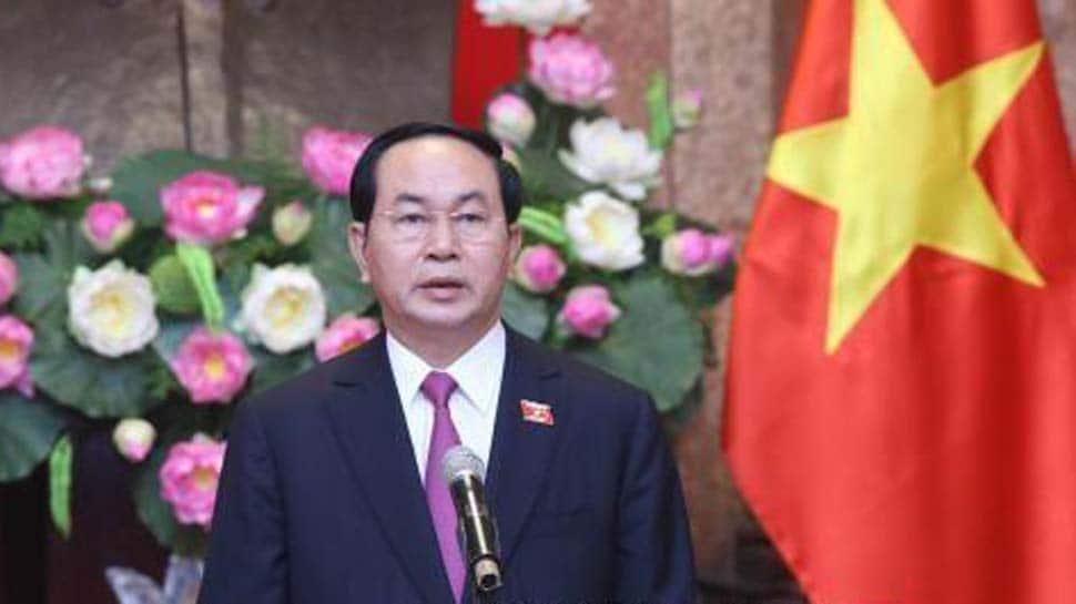 Vietnam President accorded ceremonial welcome