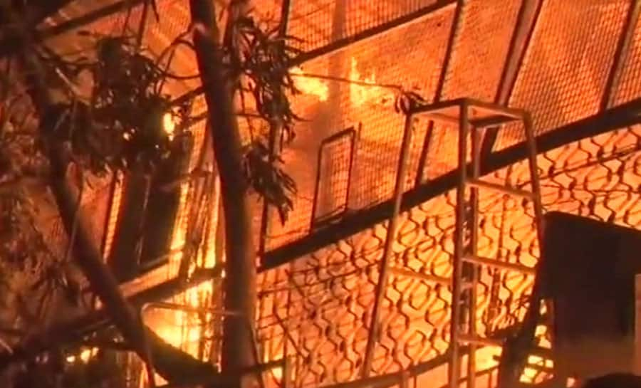 Garment, chemical manufacturing units gutted in fire in Mumbai