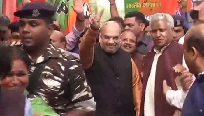 Amit Shah thanks Tripura voters, calls BJP's win a victory of PM Modi's development politics