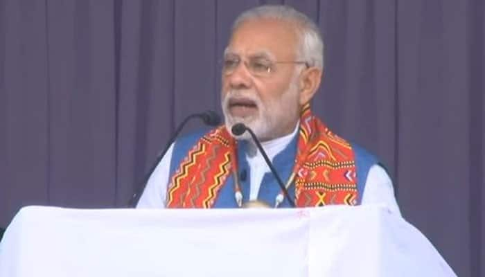Historic victory in Tripura is an ideological one, it's a win for democracy over brute force, says PM Modi