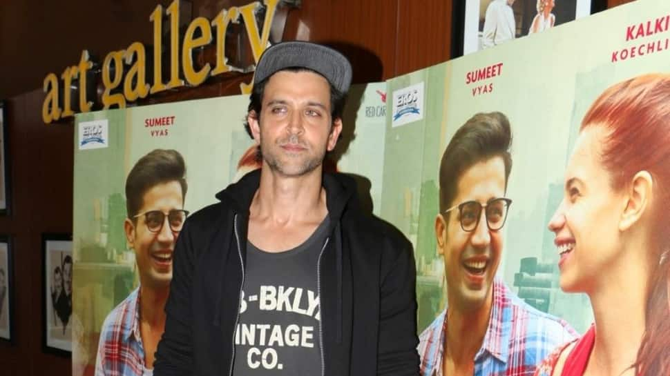 Hrithik plays mountaineer Arjun Vajpai in ad campaign