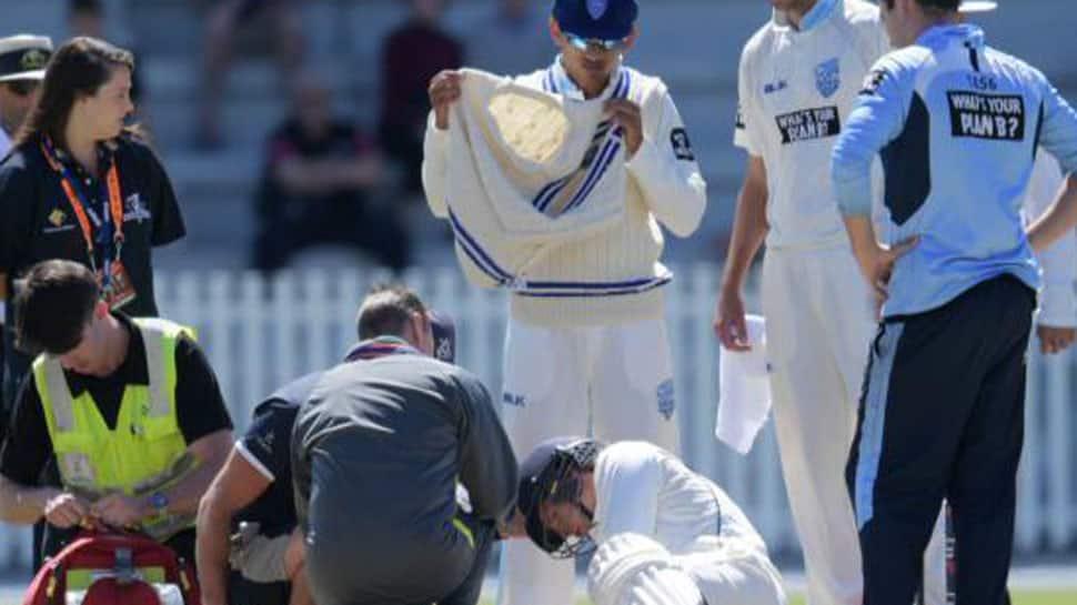 Watch: How Sean Abbott bouncer felled batsman Will Pucovski in chilling Phillip Hughes reminder