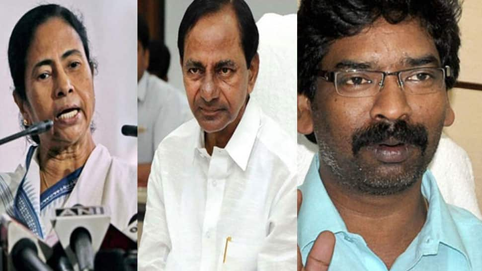 Clamour for third front growing; now Mamata Banerjee and Hemant Soren back KCR's proposal