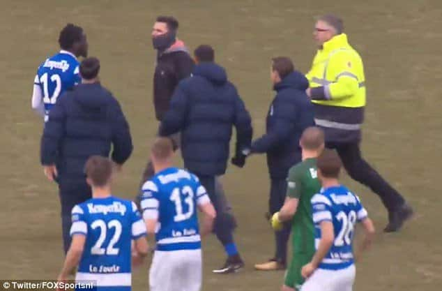 Watch: Go Ahead Eagles fans attack De Graafschap players after 4-0 loss at Dutch second division game