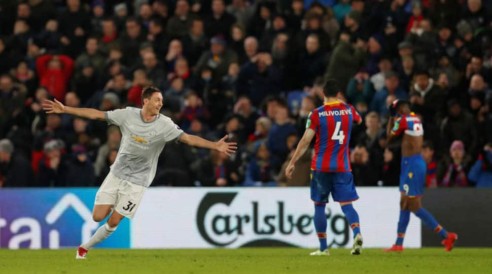 Nemanja Matic rescues Manchester United with a win in a thriller at Crystal Palace