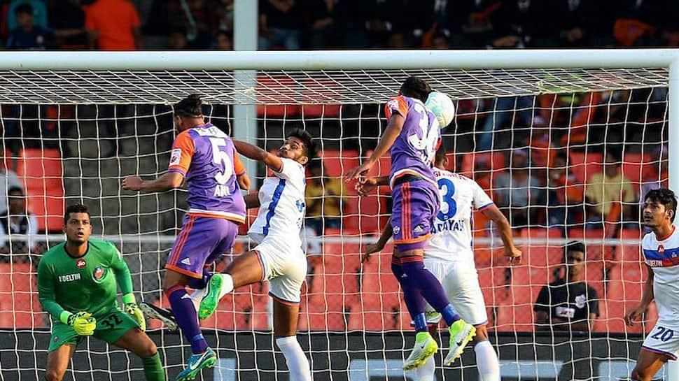 Favourites Bengaluru FC take on doughty FC Pune city in first leg semi-final