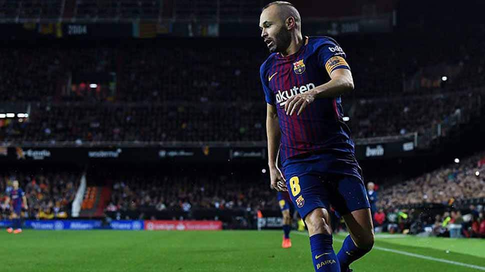 Andres Iniesta injury worries Barcelona ahead of Chelsea clash in Champions League