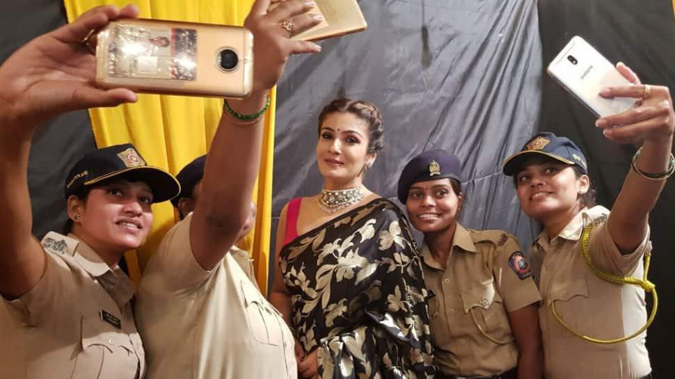 FIR against Raveena Tandon for shooting inside temple in Odisha