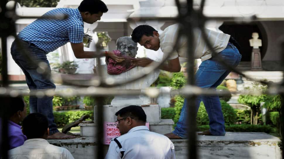 Statues vs vandals: After Lenin and Periyar, bust of Syama Prasad Mukherjee damaged
