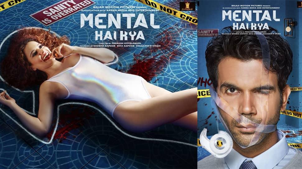 Kangana Ranaut and Rajkummar Rao's Mental Hai Kya filming posters raise curiosity