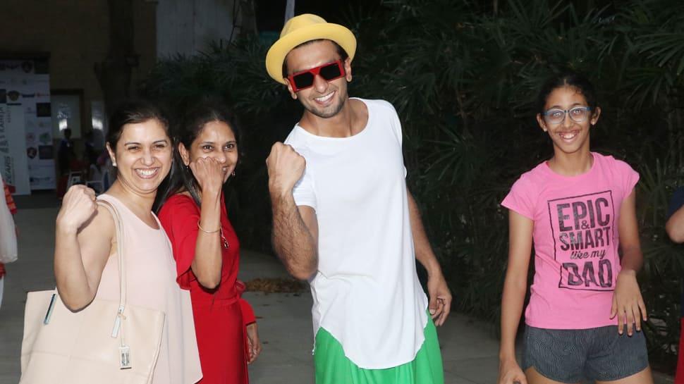 Ranveer Singh celebrates Women's Day in the quirkiest way possible!