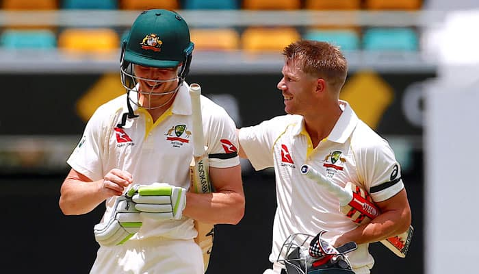 South Africa vs Australia, 2nd Test, Day 1: David Warner lets bat do the talking