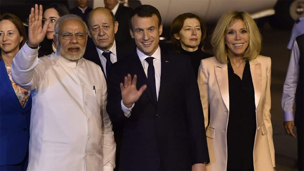 PM Narendra Modi to hold talks with French counterpart Emmanuel Macron on Saturday