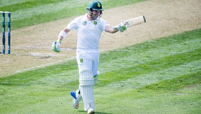 Hashim Amla, Dean Elgar steady as South Africa 110/2 at lunch on Day Two