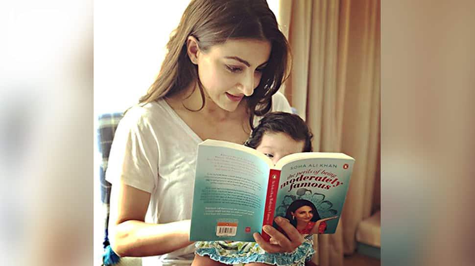 Soha Ali Khan worried over daughter Inaaya's popularity on social media