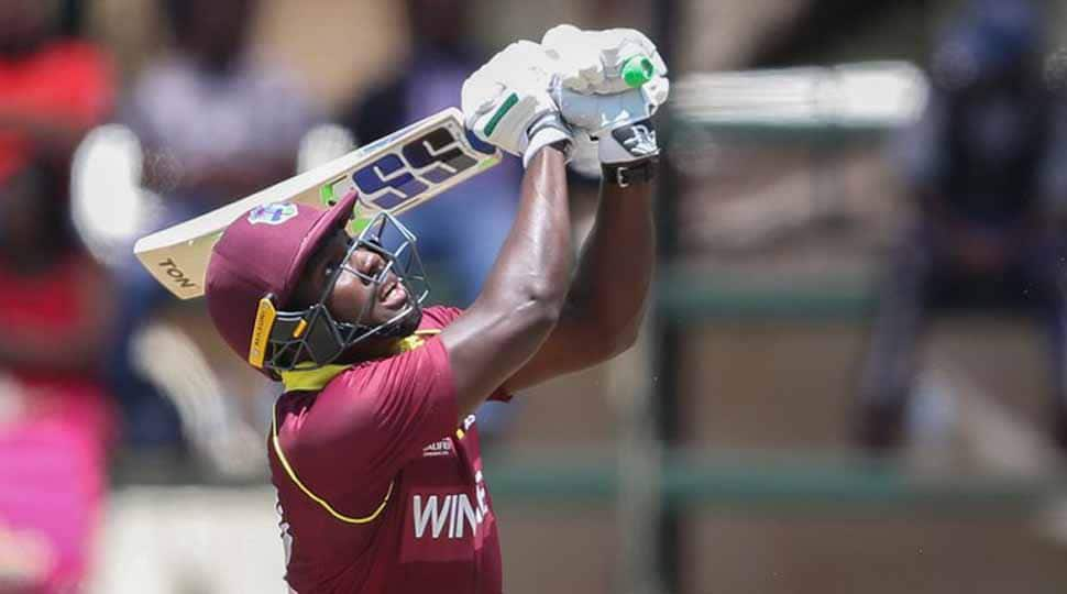 Rovman Powell maiden ton lifts West Indies to overcome Ireland, make Super Six stage