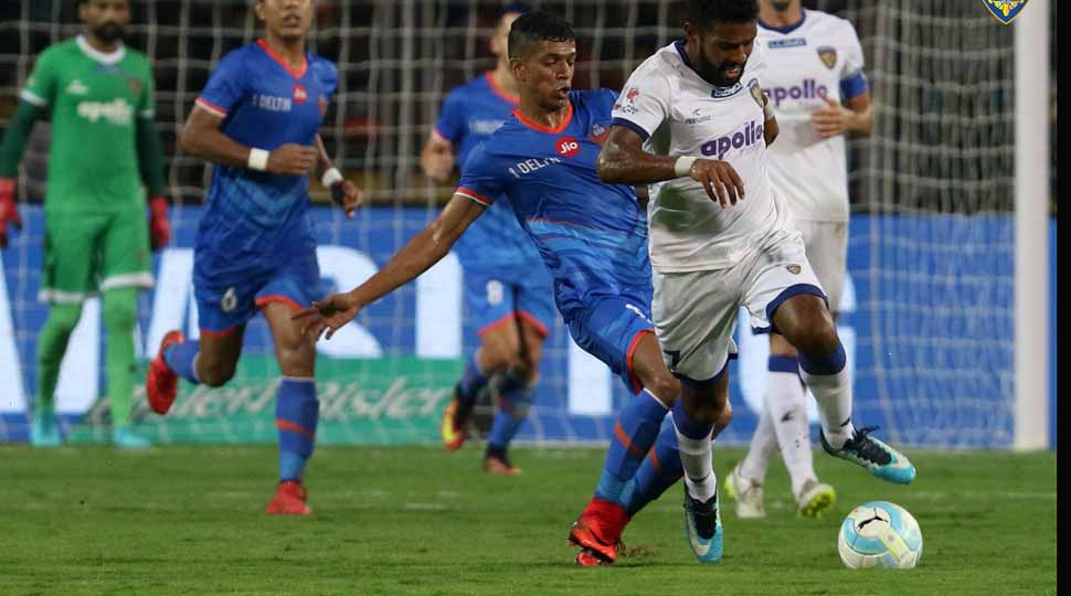 Chennaiyin FC rally to hold FC Goa 1-1 in second semifinal of ISL