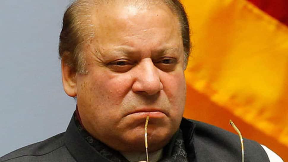 Shoe hurled at former Pakistan PM Nawaz Sharif in Lahore