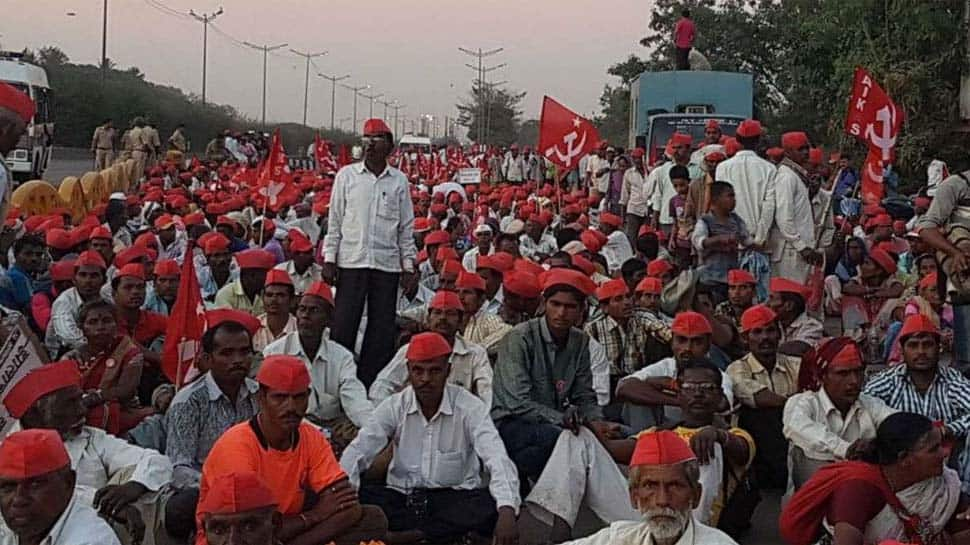 Kisan Long March: Maharashtra government advises SSC students to reach exam centres before time