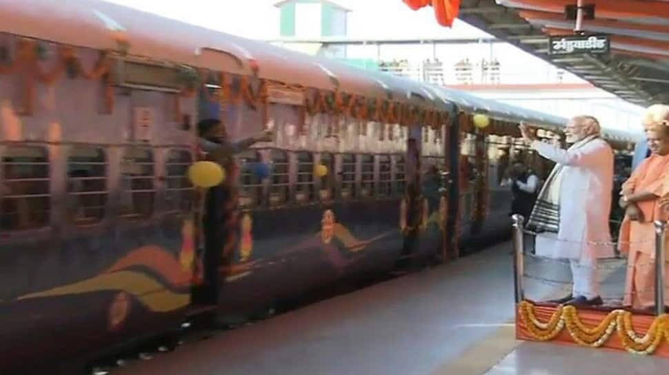 Indian Railways launches 3rd Mahamana Express train from Manduadih to Patna; flagged off by PM Modi