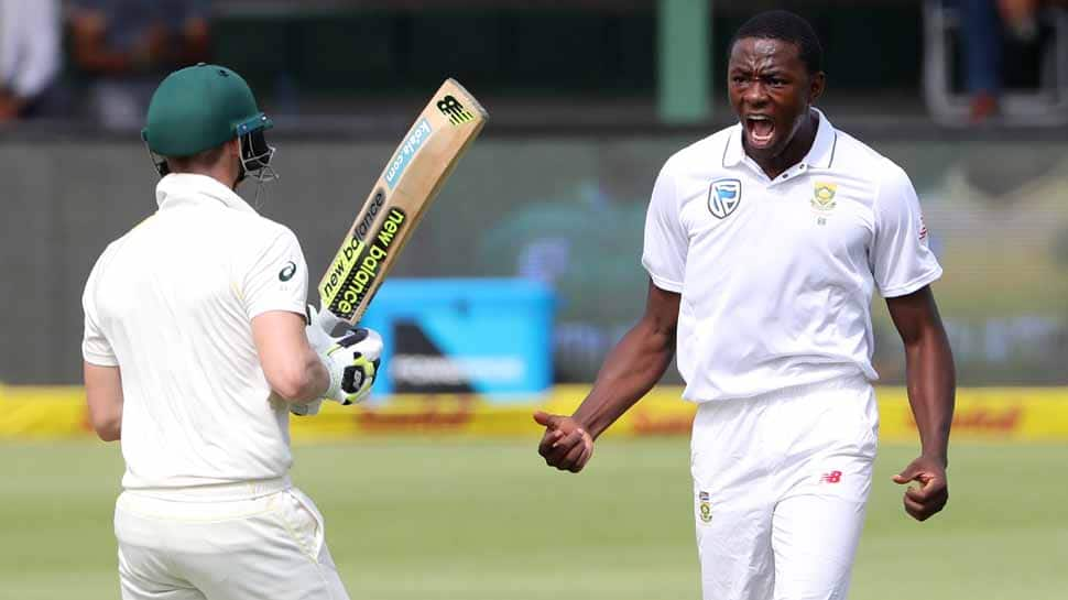 South Africa's Kagiso Rabada suspended for rest of Australia series