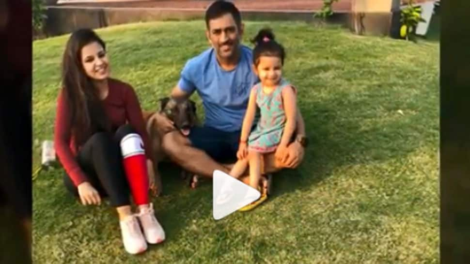 Mahendra Singh Dhoni shares an adorable family video on Instagram—Watch viral video