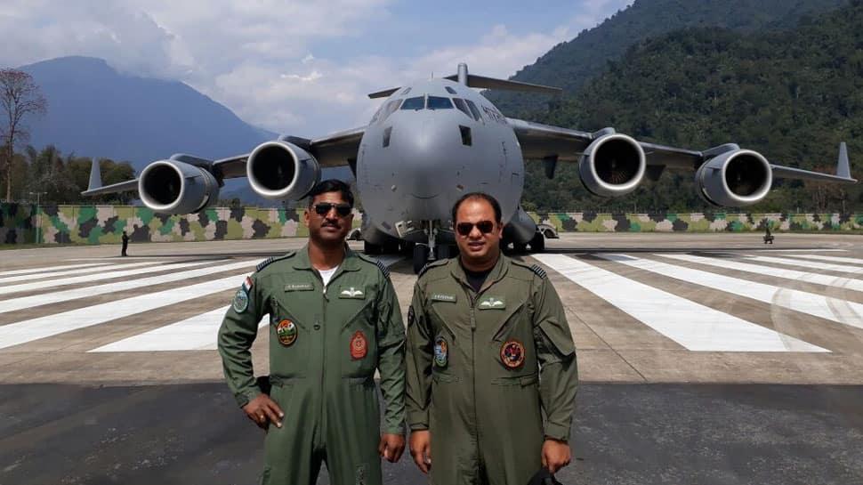 Eye on China: IAF lands its largest transport aircraft C-17 Globemaster in Arunachal Pradesh's Tuting