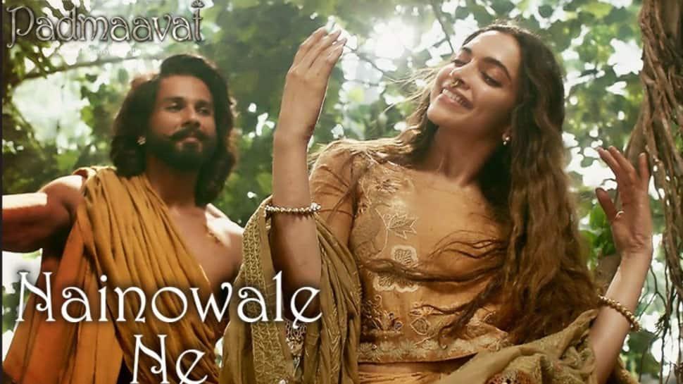 Padmaavat: Shahid Kapoor and Deepika Padukone's magical chemistry in Nainowale Ne will win your heart – Watch
