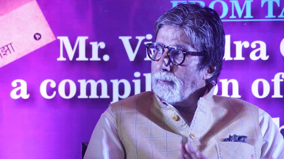 Amitabh Bachchan posts poetic tweet to update fans on health condition