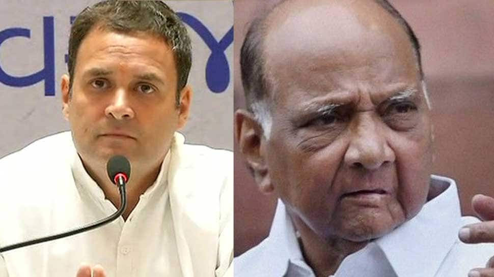 Anti-BJP front in sights, Rahul Gandhi meets Sharad Pawar