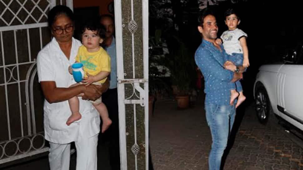 Taimur Ali Khan and Laksshya Kapoor hang out over play date — See photos