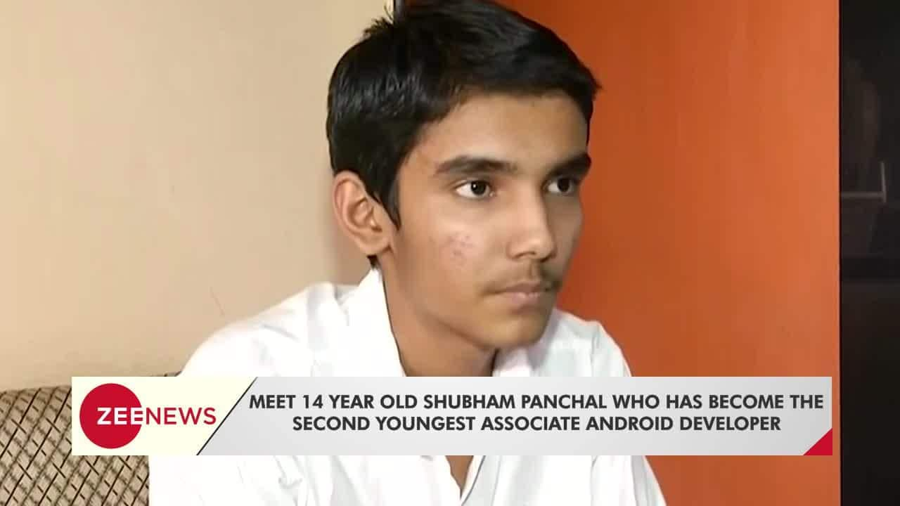 Meet 14-year-old Shubham Panchal, the worlds second youngest android  developer