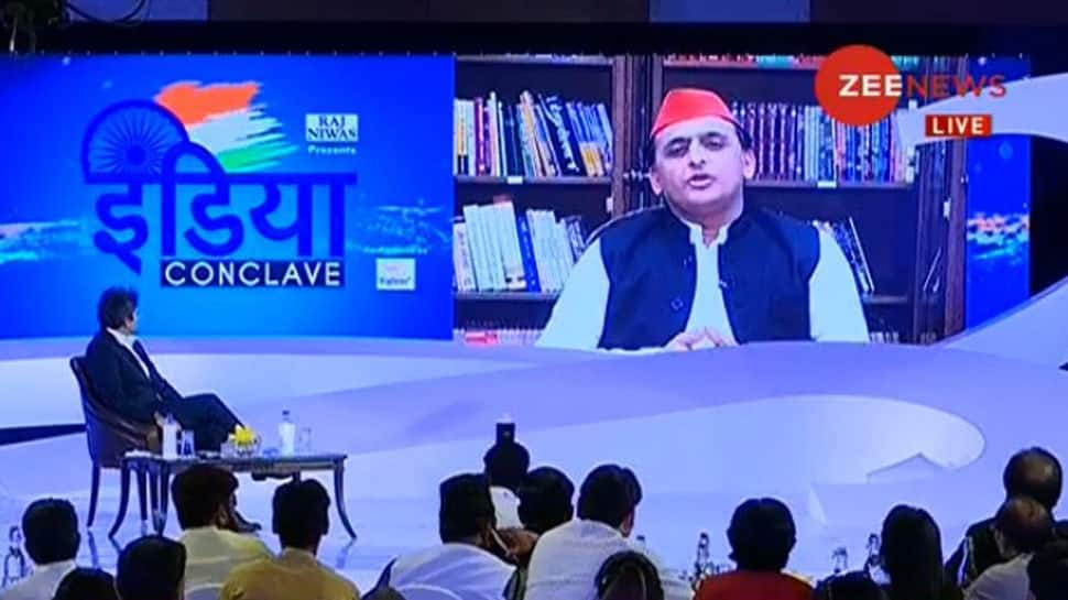 Zee India Conclave: Will visit all mandirs and masjids to maintain our alliance with Mayawati, says Akhilesh Yadav