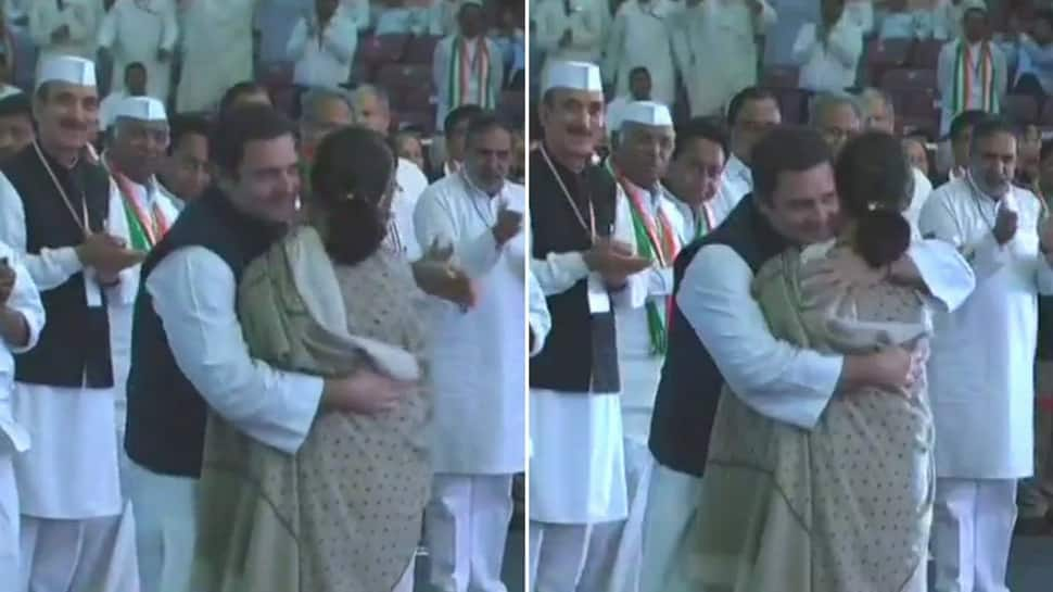 Rahul took charge of Congress at a challenging time, says Sonia Gandhi
