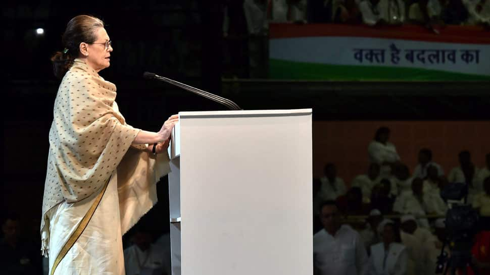 Sonia Gandhi tears into Narendra Modi government, calls it 'arrogant and power hungry'