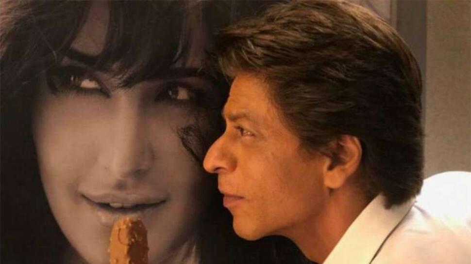 Shah Rukh Khan recreates famous 'Darr' scene, says 'I love u kkkKatrina' — Check out