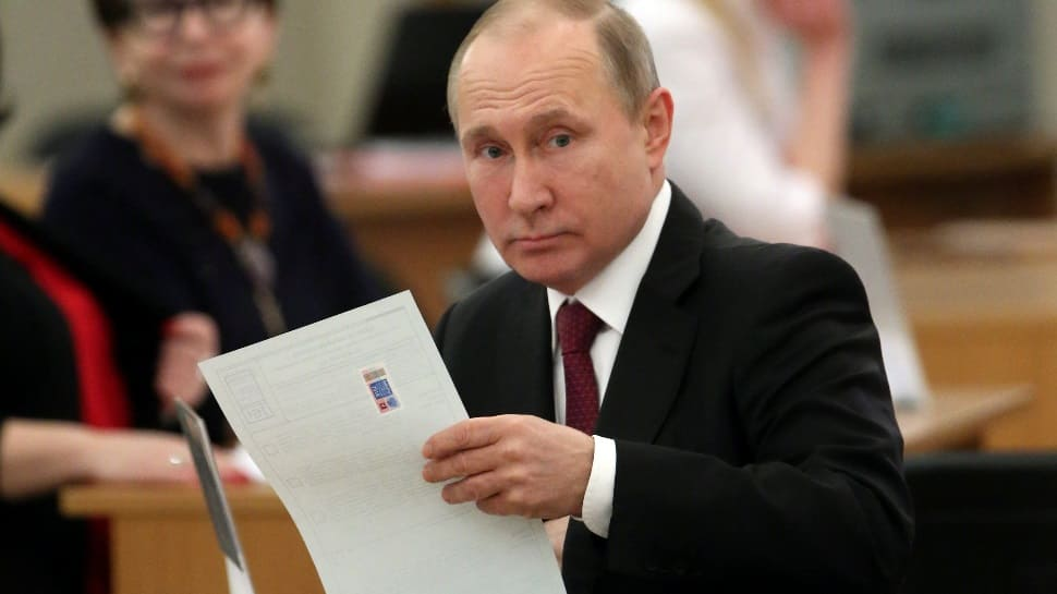 Vladimir Putin eyes fourth term in polls as opposition cries foul