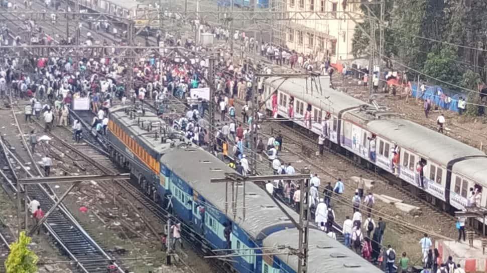 Job aspirants stall Mumbai local train services: Here's what the agitators are demanding