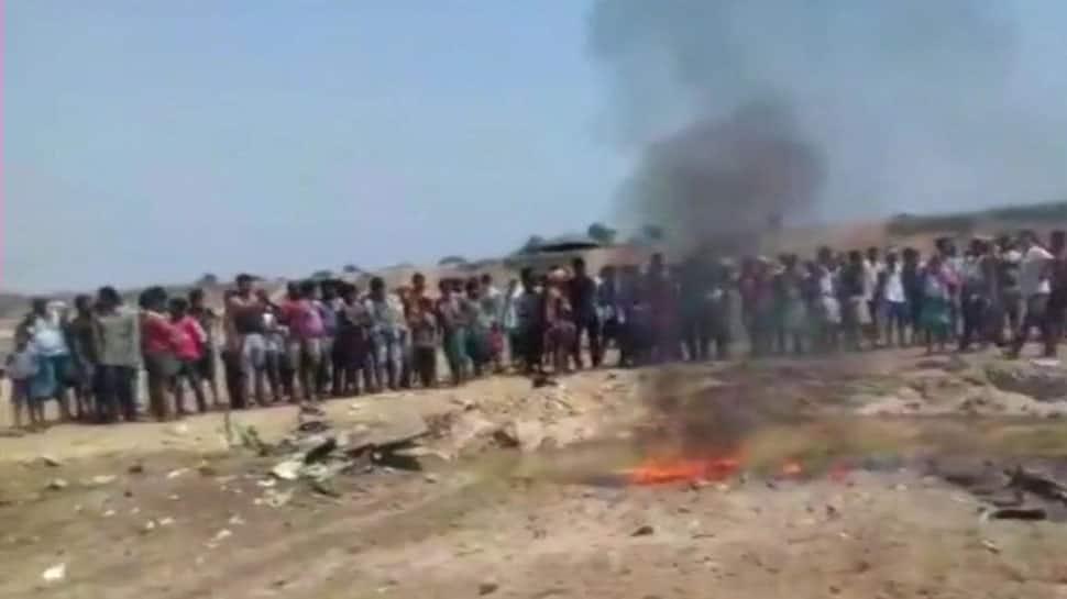 IAF plane crashes in Odisha's Mayurbhanj, severely injured pilot rescued