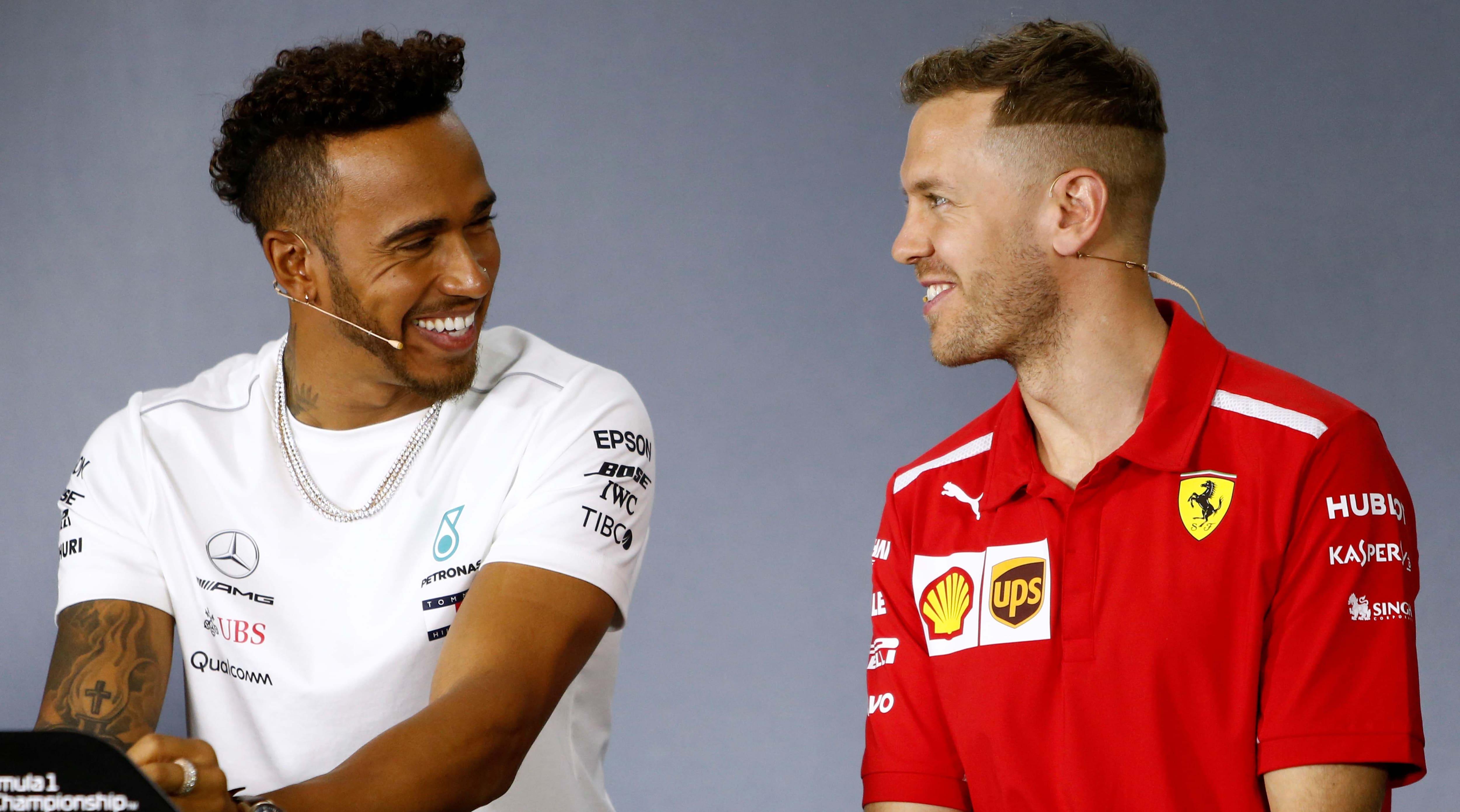 Lewis Hamilton, Sebastian Vettel savour competing against the 'best'