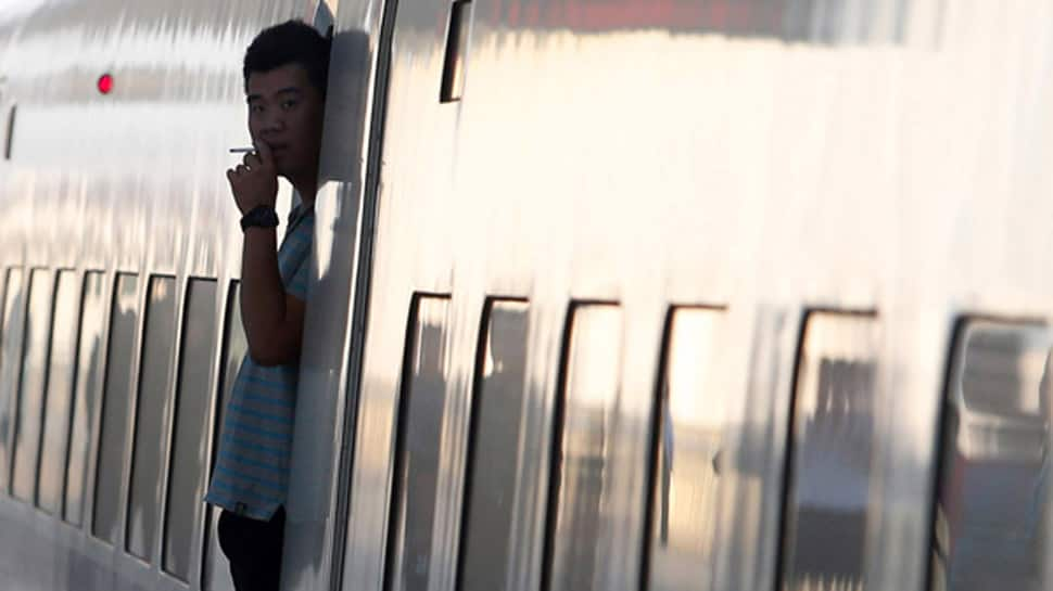 Caught smoking on a train? China will ban you for 6 months