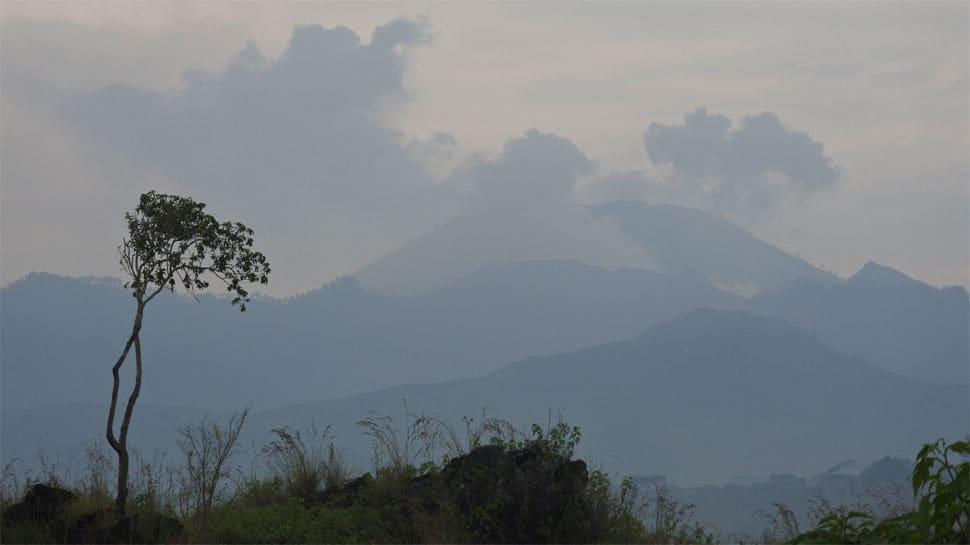 Indonesian volcano spews sulphuric gas, people evacuated in East Java province