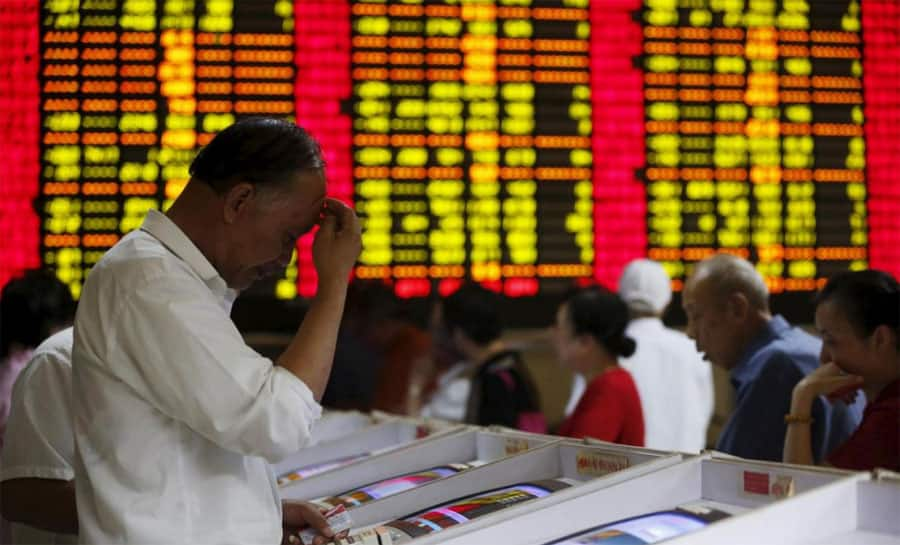 Chinese stock markets open down 3% after launch of trade war with US