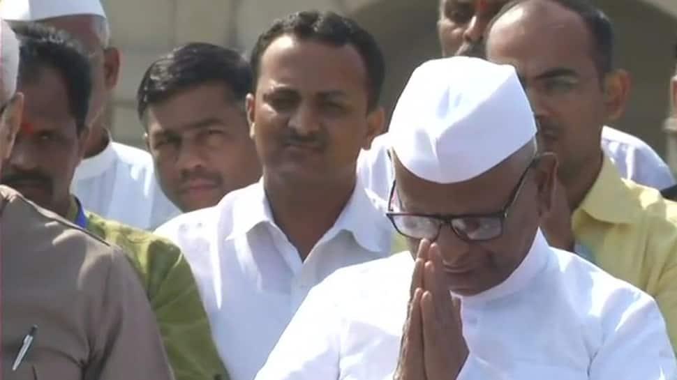 Anna Hazare begins 'satyagraha' in Delhi, says will fight till the last breath
