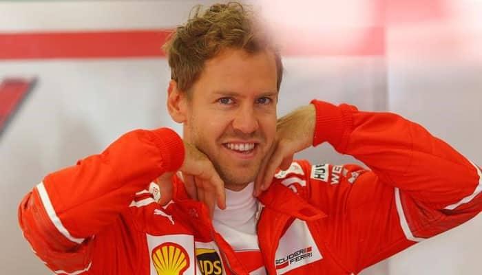 Sebastian Vettel goes fastest on slicks in Australian GP practice