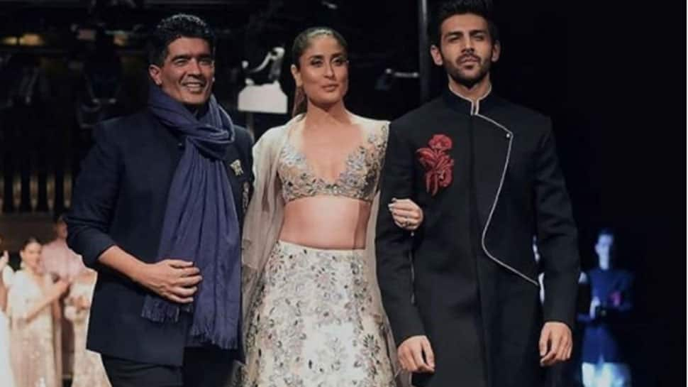 Kareena and Kartik Aaryan turn showstoppers for Manish Malhotra—Video, pics