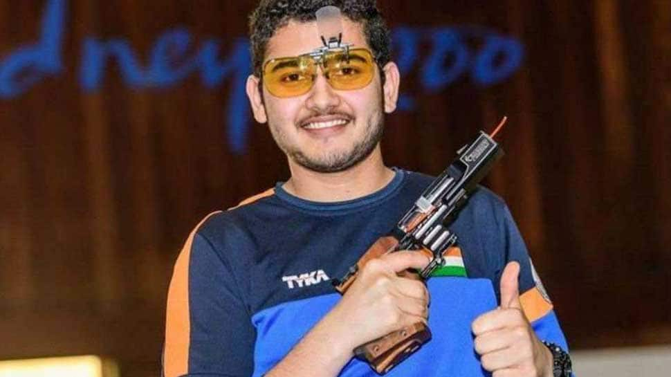 ISSF Junior World Cup: Anish Bhanwala bags gold in 25m Rapid Fire Pistol