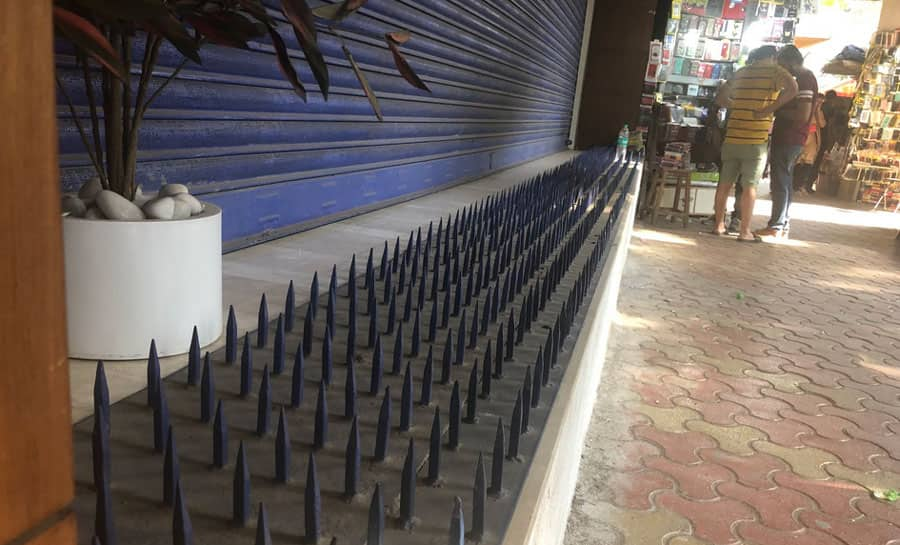 Spikes at HDFC branch spark social media furore, bank removes it on priority