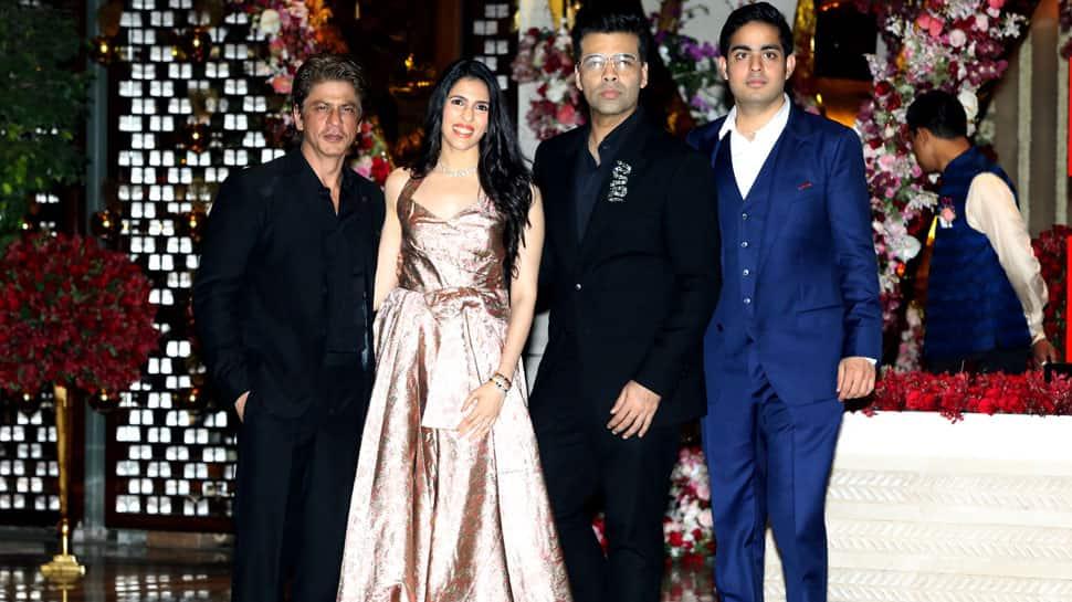 Akash Ambani-Shloka Mehta post engagement bash: Shah Rukh Khan, Katrina Kaif, Aishwarya Rai Bachchan make it a starry night—See Pics