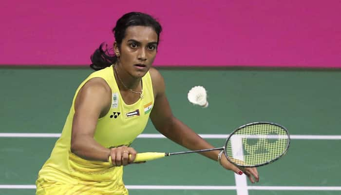 PV Sindhu survives injury scare before 2018 CWG